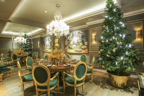 CHRISTMAS AND NEW YEAR PARTY AT LE ROYAL SAIGON