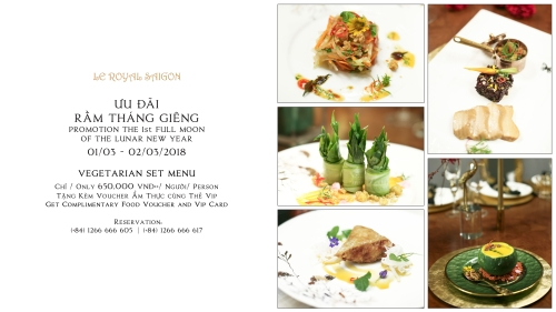 First Full Moon Festival Promotion at Le Royal Saigon