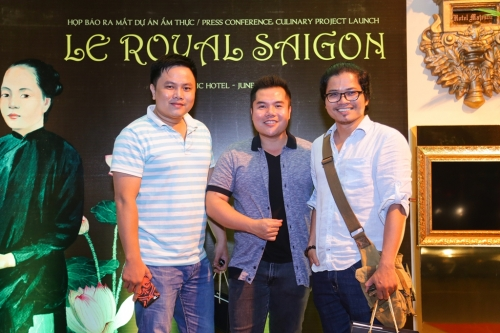 PRESS CONFERENCE TO INTRODUCE THE CULINARY PROJECT LE ROYAL SAIGON